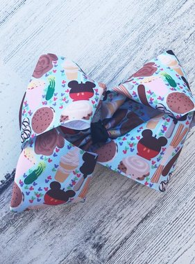 Disney Snacks Hair Bow