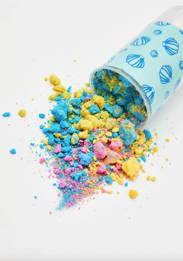 Bath Bomb Confetti Push Pop