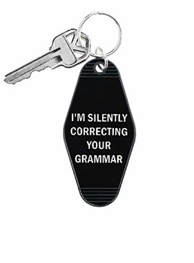 Silently Correcting Your Grammar Keychain