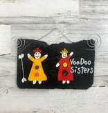 Voodoo Sisters Roof Tile Art