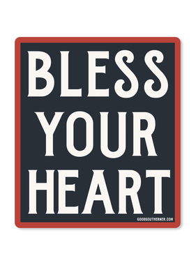 Bless Your Heart Sticker, Rectangle