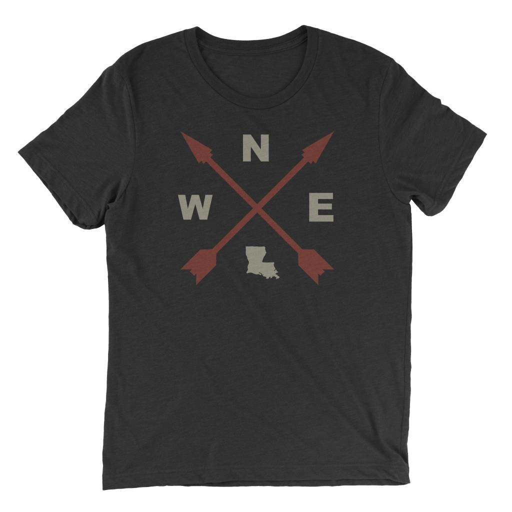 Parish Ink Louisiana Compass Tee