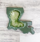 Ceramic Louisiana Coaster, Assorted