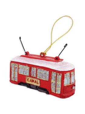 Canal Streetcar Christmas Ornament