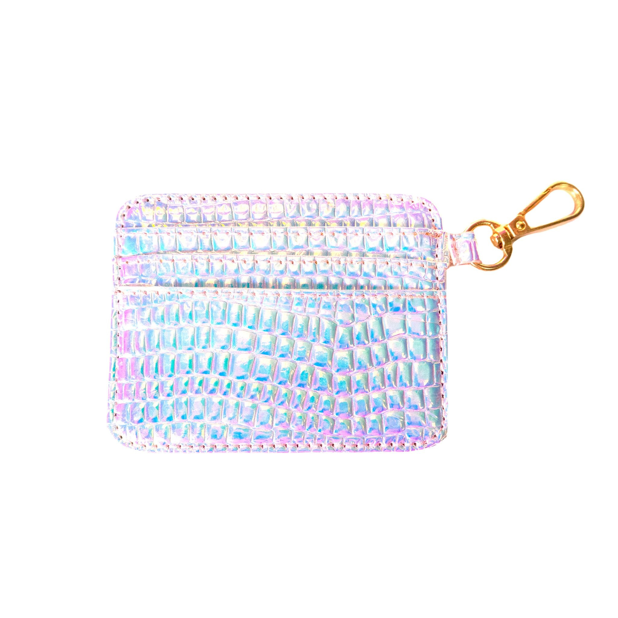 Iridescent Jelly Card Holder