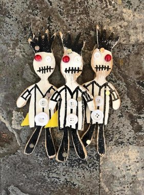 Mini Wood Ref Voodoo Wall Art