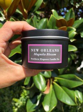 Magnolia Blossom Candle, Travel Tin