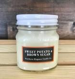 Sweet Potato & Brown Sugar Candle, Jar