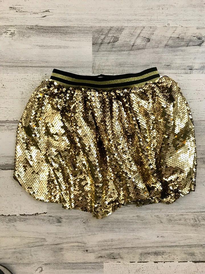 Gold Sequin Skirt, Kids