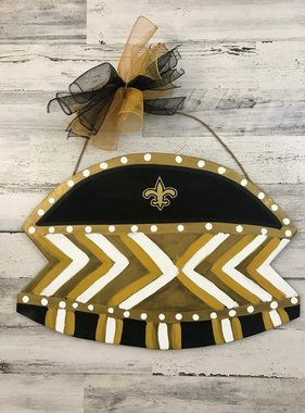 Wood Superdome Door Hanger