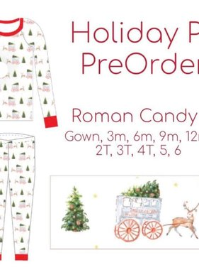 Roman Candy Holiday Pajamas