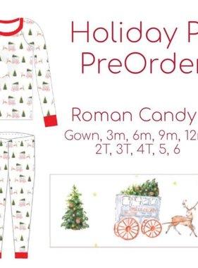 Roman Candy Holiday Pajamas