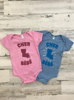 Parish Ink Cher Bébé Onesie