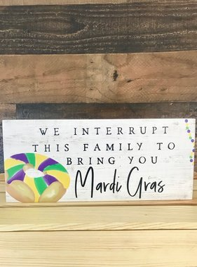 Bring You Mardi Gras Wall Art