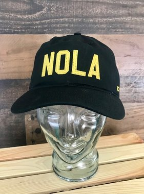 NOLA Baseball Cap, Black