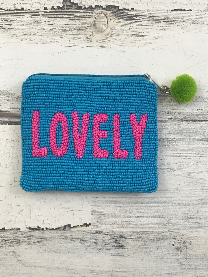 Lovely Beaded Pouch