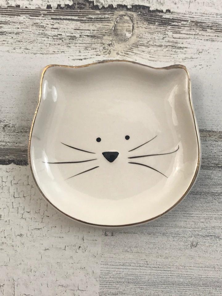 Kitty Catch All Trinket Tray