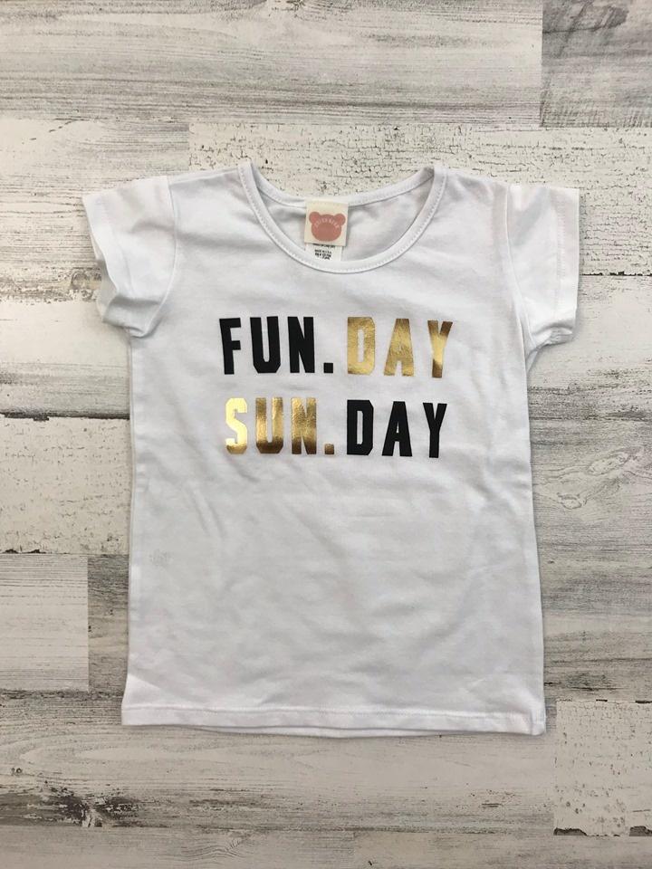 Fun. Day Sun. Day Tee for Kids