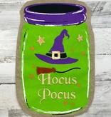 Hocus Pocus Mason Jar Garden Flag