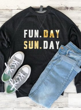 Fun. Day, Sun. Day Sweatshirt