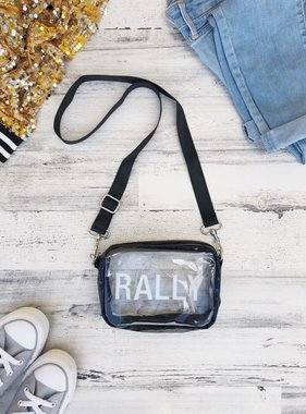 Clear Stadium Purse, RALLY
