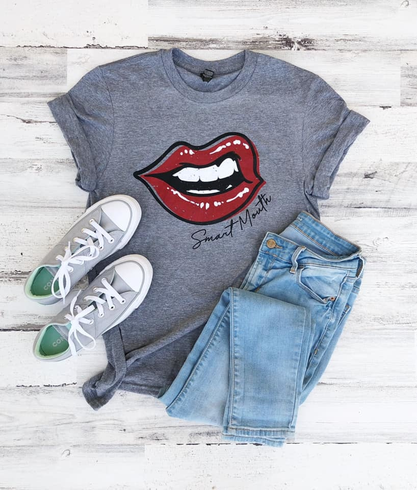 Smart Mouth Tee
