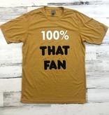 100% That Fan tee