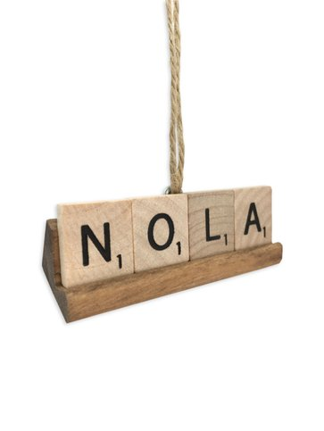 NOLA Scrabble Ornament