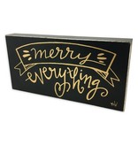 Merry Everything Box Sign
