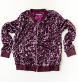 Purple Sequin Jacket