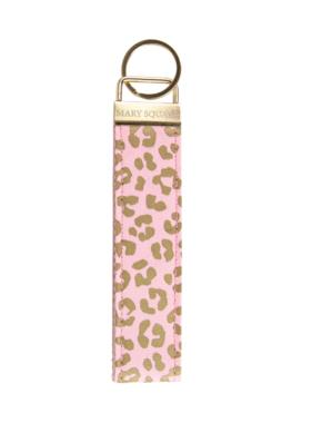 Blush Leopard Keychain