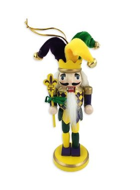 Mardi Gras Nutcracker Ornament