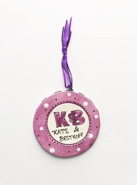K&B Ceramic Ornament