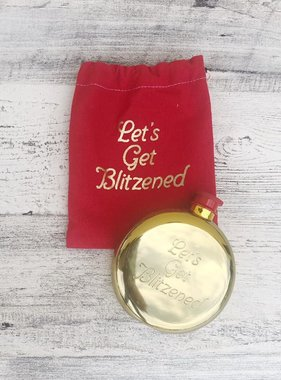 Let's Get Blitzened Flask