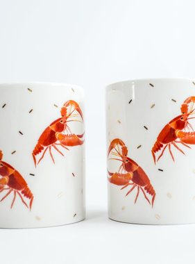 Nola Tawk Crawfish Mug