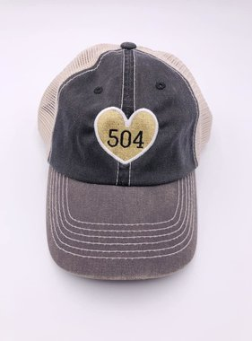 504 Heart Trucker Hat