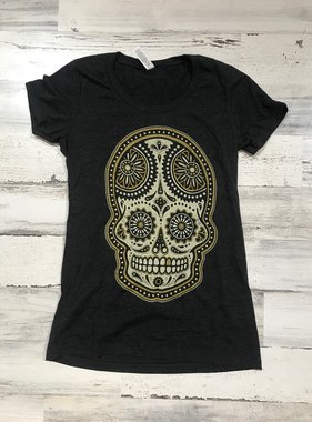Parish Ink Sugar Skull Tee
