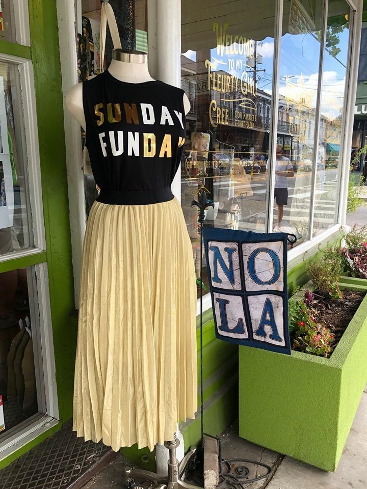 Gold Tulle Skirt