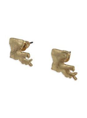 State In A Bottle Earrings, Gold