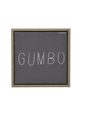 Gumbo Framed Canvas