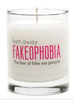 FAKEOPHOBIA Candle