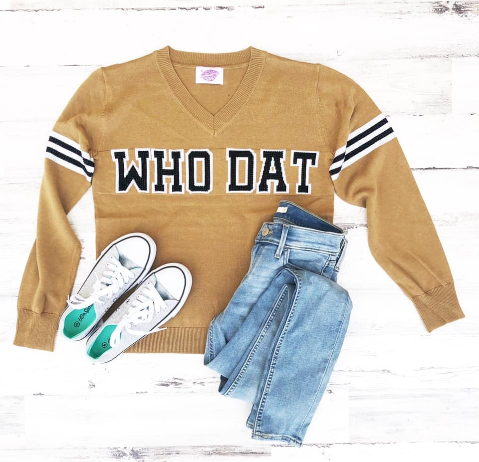Who Dat Sweater