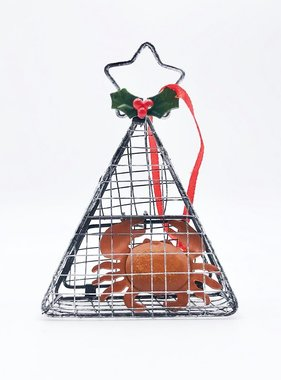 Crab Trap Ornament