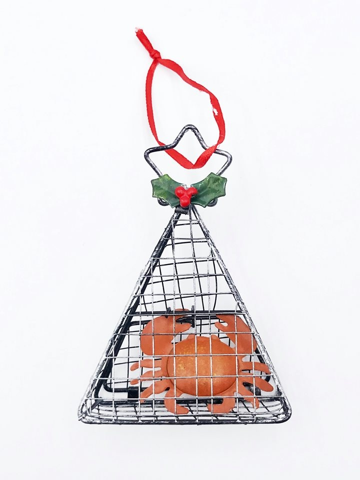 Crab Trap Ornament
