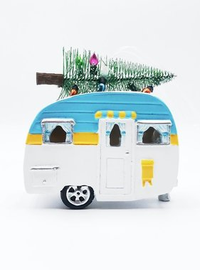 LED Camper w/Tree Ornament