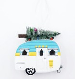 LED Camper w/Tree Ornament
