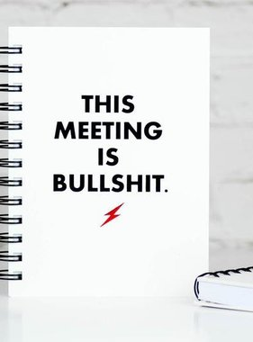 This Meeting Bullshit Journal