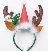 Reindeer Santa Hat Headband