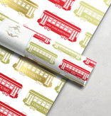 Streetcar Wrapping Paper