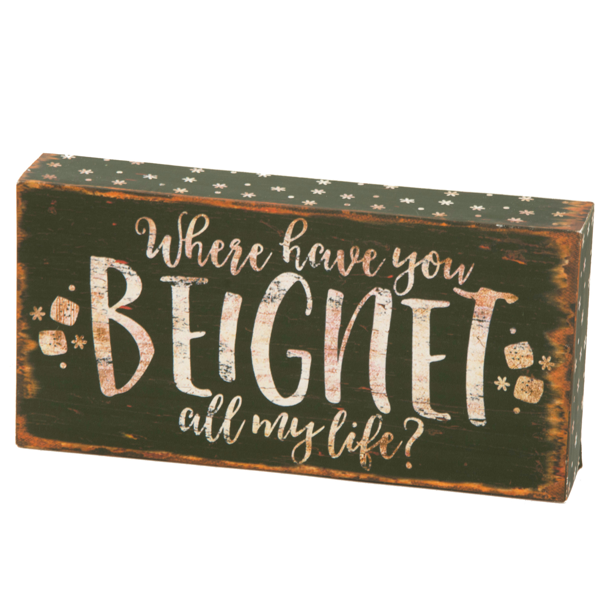 Beignet Box Sign